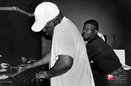 Frankie Knuckles & Larry Levan, Sound Factory DJ booth
